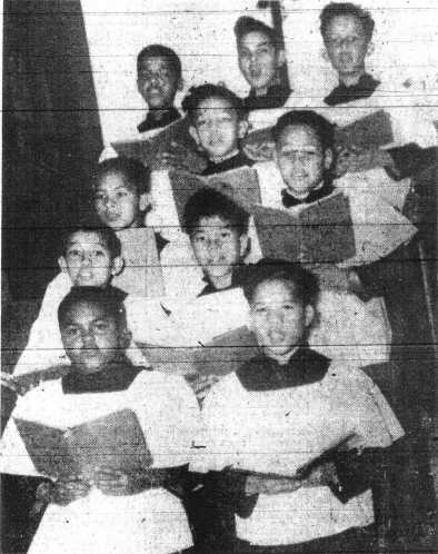 Corpus Christi Church Boys' Choir-1948