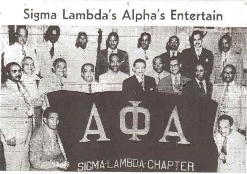Alpha Phi Alpha Fraternity-1948