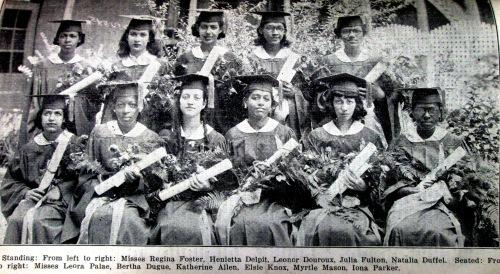 St.Mary's Academy- Class of 1937