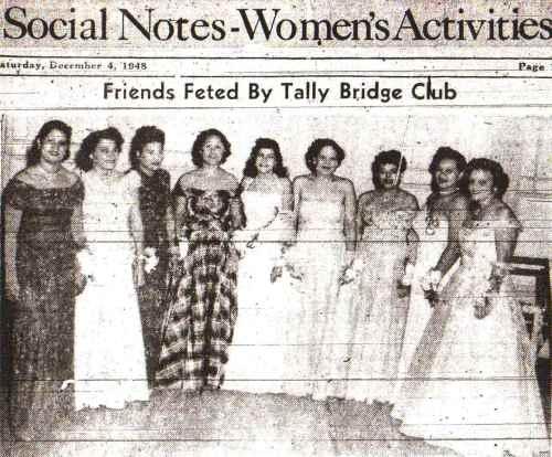 Tally Bridge Club-1948