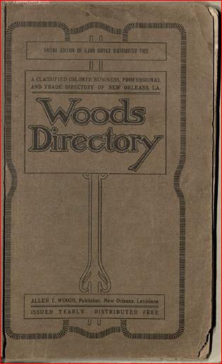 1912 Woods Directory