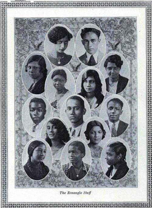 Mc#35 Yearbook Staff (p.1)-1931