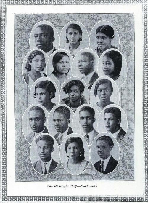 McD#35 Yearbook Staff (p.2)-1931