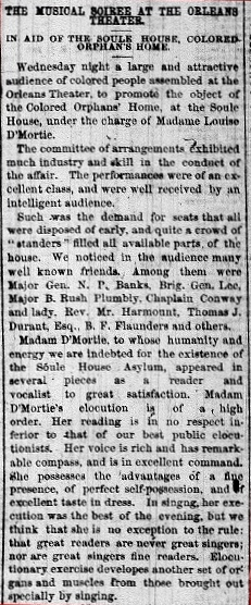 Soule House 29 Apr 1865 pg 2 start of article (2)