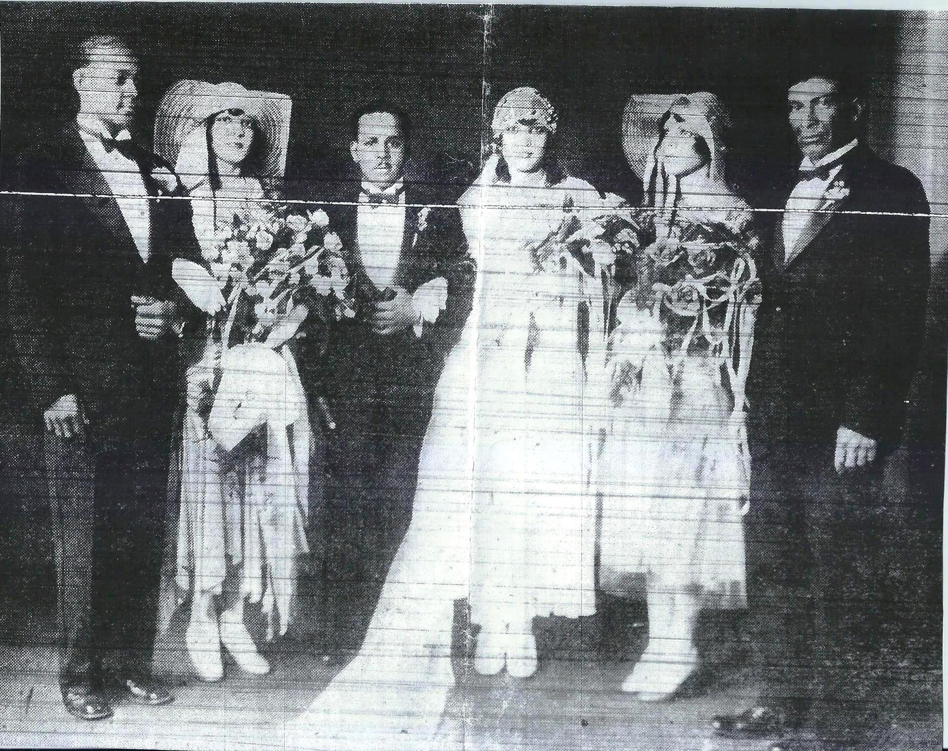 Haydel- Brown Wedding 1930 [#5]