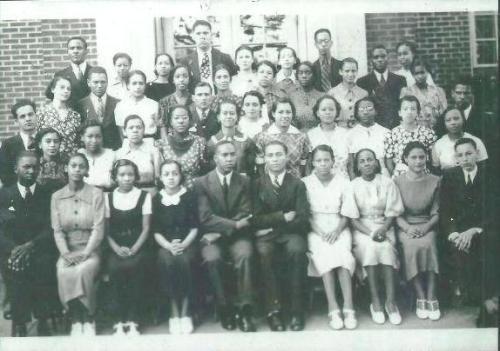 Senior Normal Class- 1937 (Valena C. Jones School)